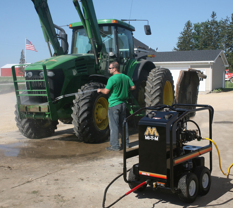 pressure washer for farm