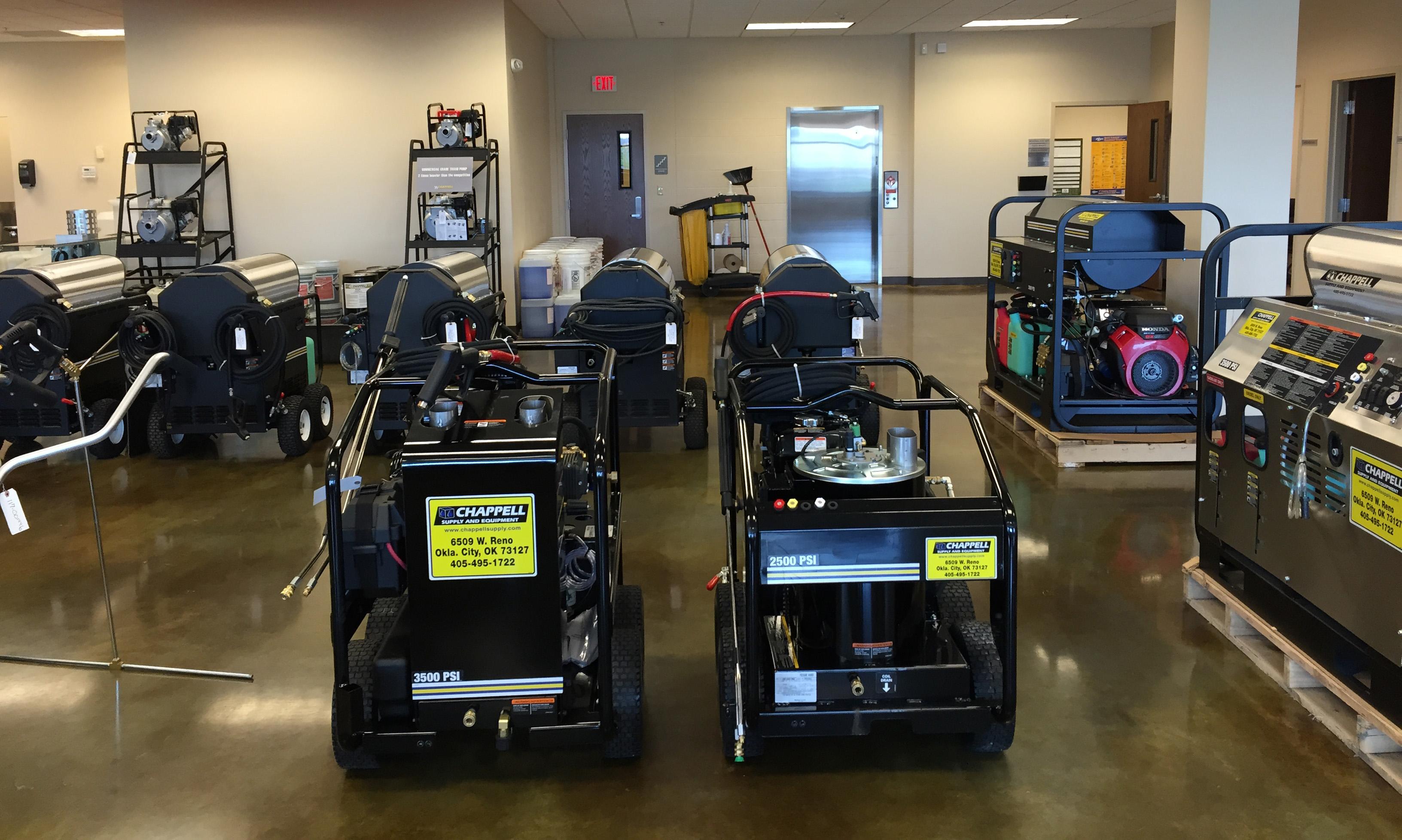hot water pressure washers oklahoma city