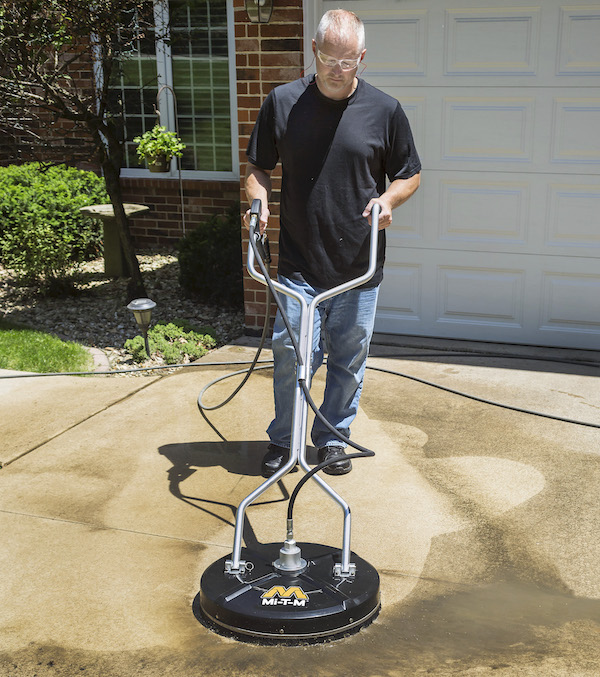 rotary surface cleaner for pressure washer