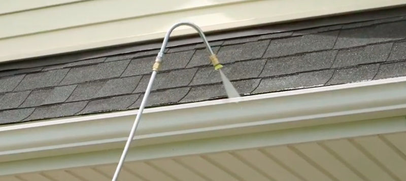 gutter cleaner extension for pressure washer