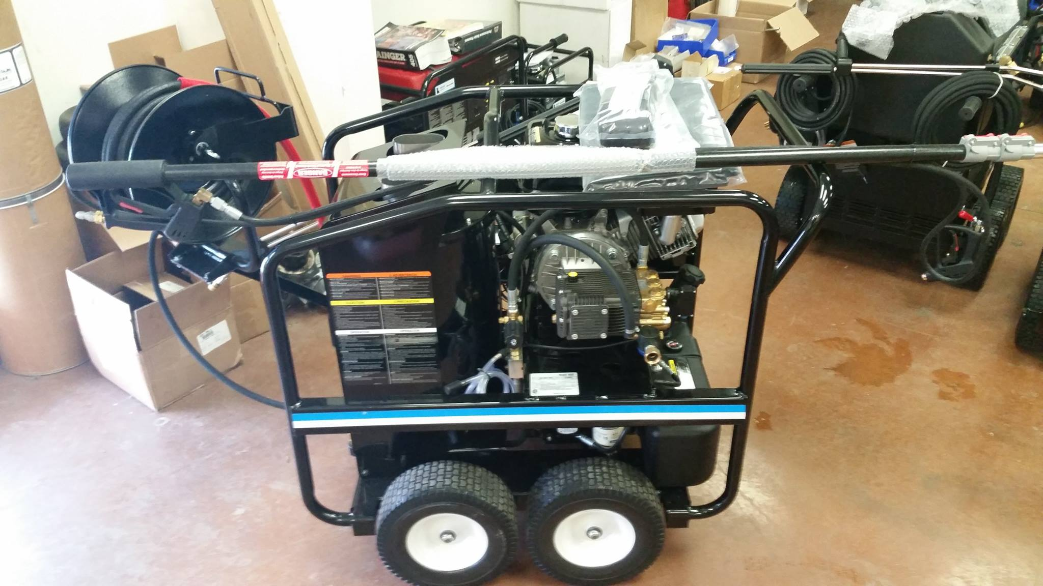 Hot pressure washer Quad Cities