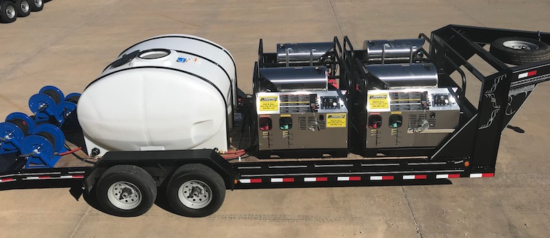 best pressure washer trailers
