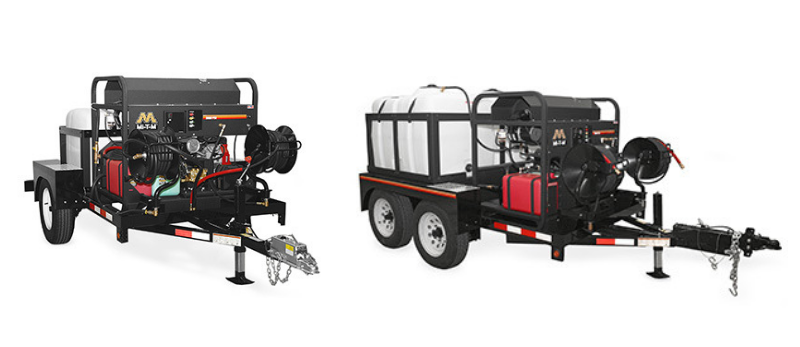 pressure washer trailers