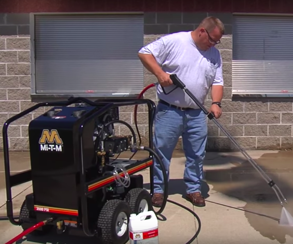 How to Use a Gas Hot Water Pressure Washer