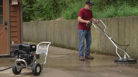 how to use an Industrial Surface Cleaner 20