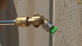 how to use a pressure washer Pivot Coupler
