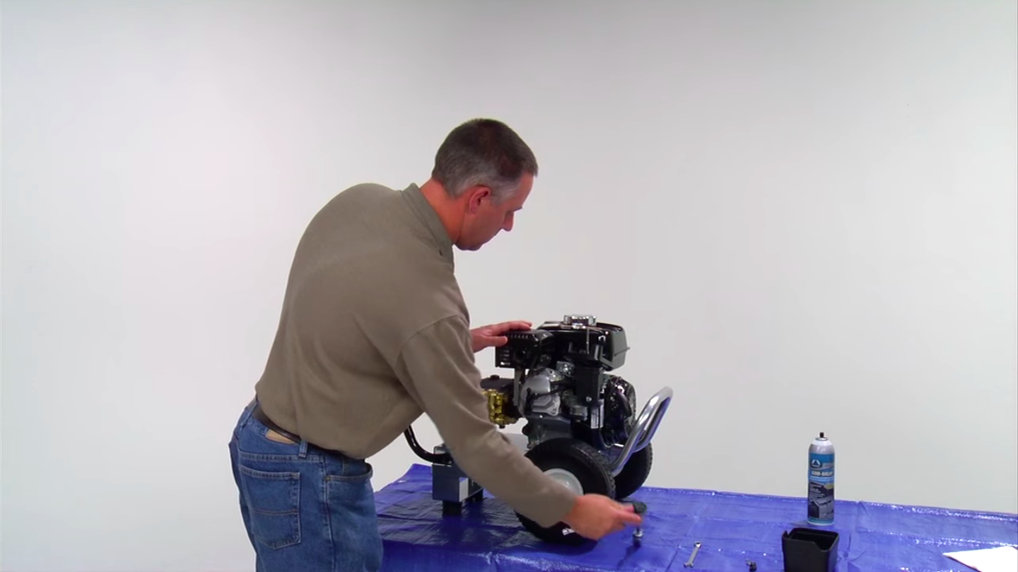 How to Fix a Tipped Pressure Washer Unit  Mi-T-M Corporation